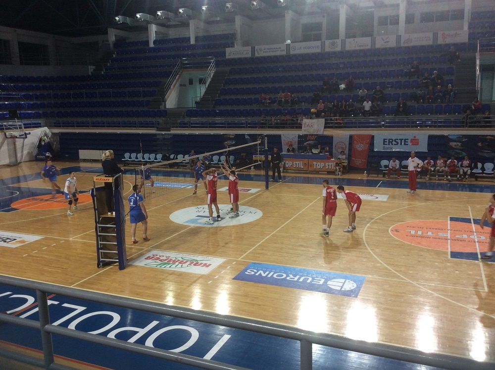 Bar volley – Jedinstvo 1:3
