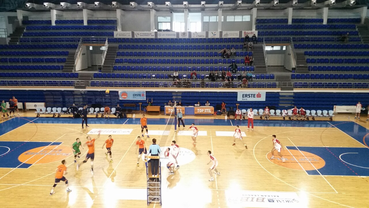 Bar volley – Budućnost Capital Plaza 0:3