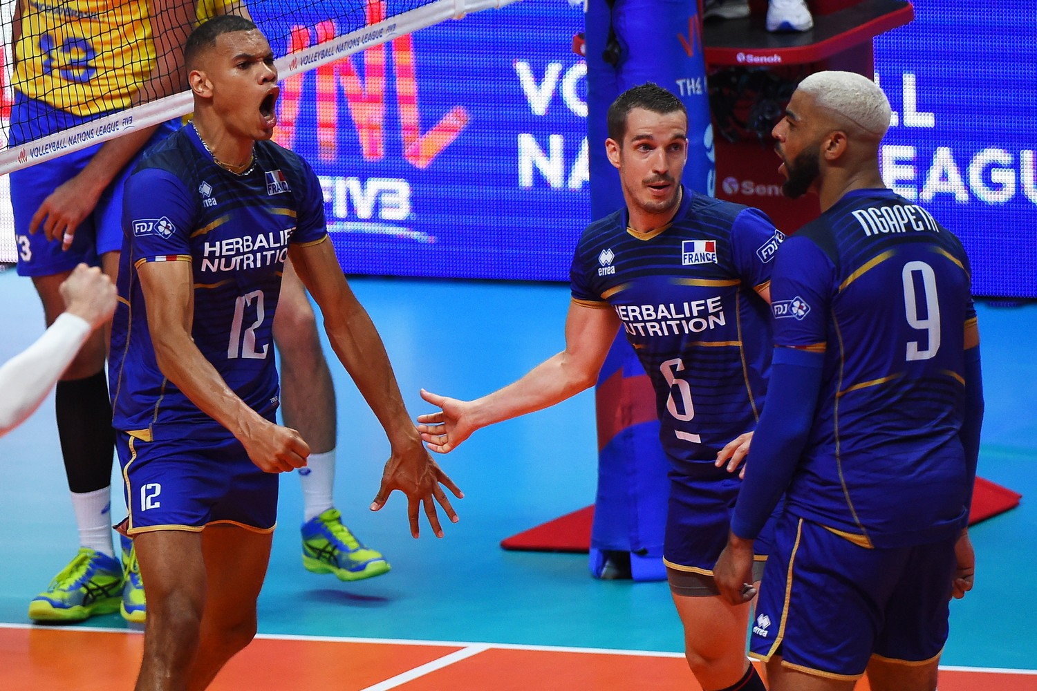 liga nacija odbojkasi francuska liga volleyball nations league fivb 12