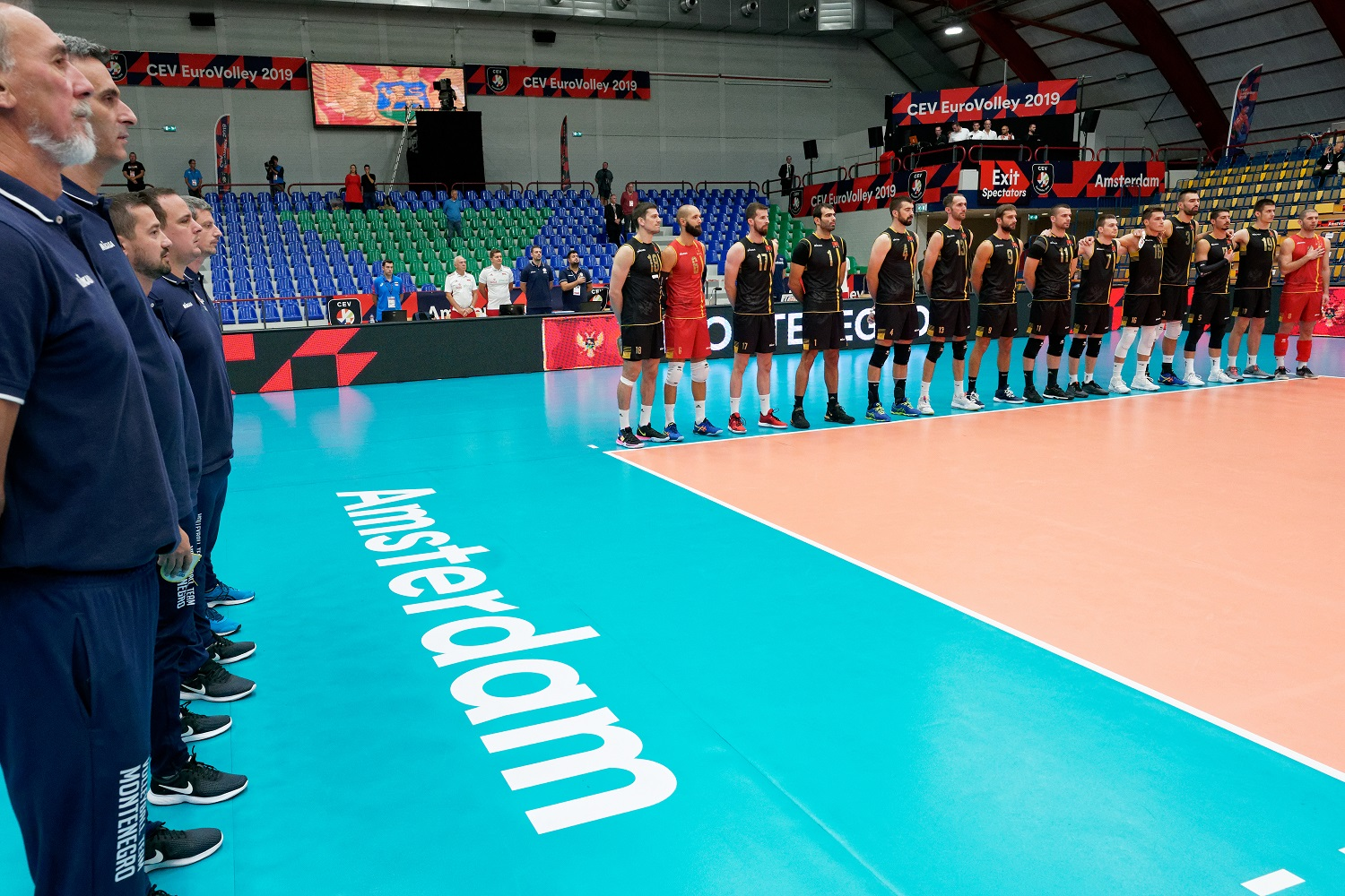 Ned, EC Volleyball 2019 Montenegro – Poland, Amsterdam