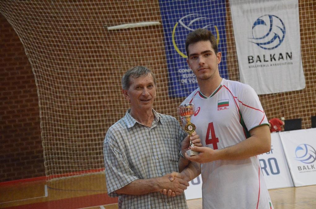 IVANOV Ivaylo best receiver