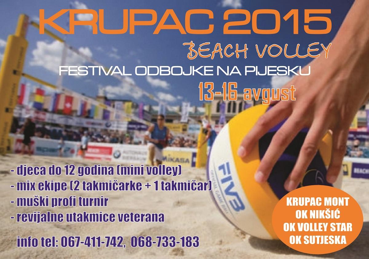 beach volley turnir krupac 2015 odbojka na pijesku niksic crna gora montenegro