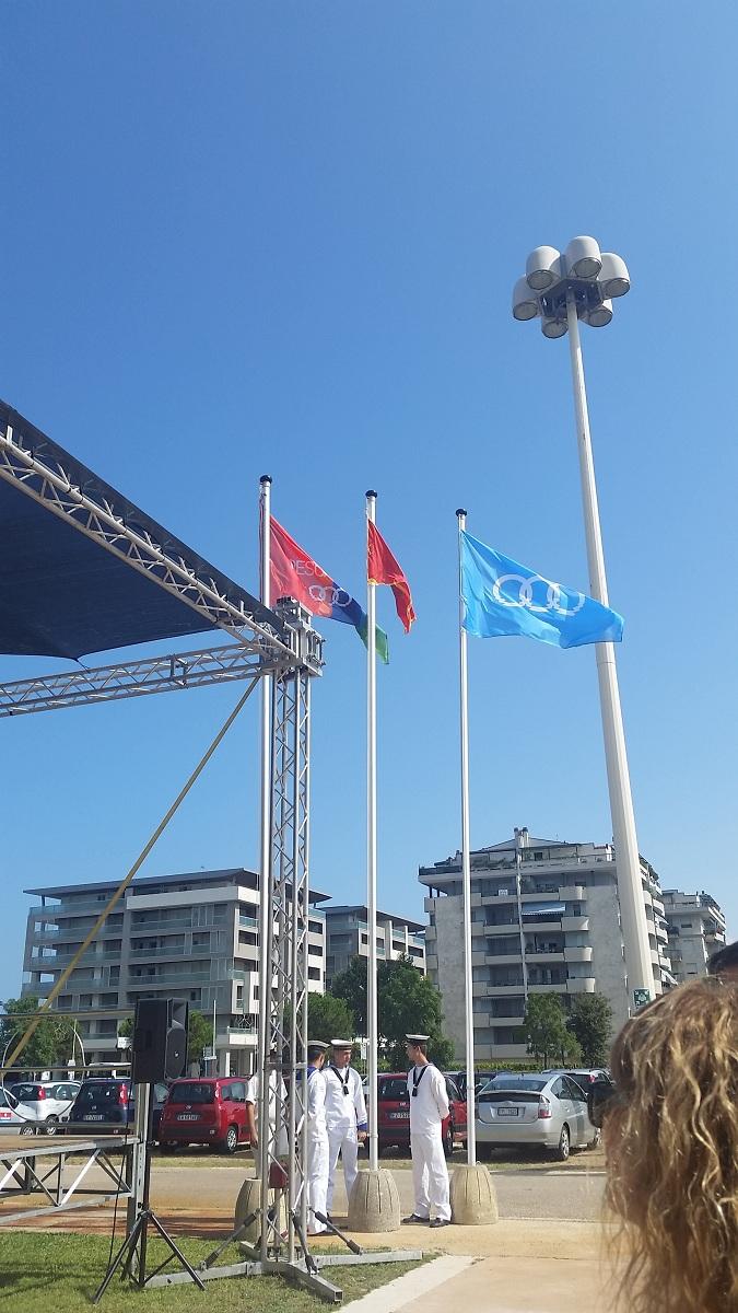ceremonija podizanja zastave peskara 2015 3
