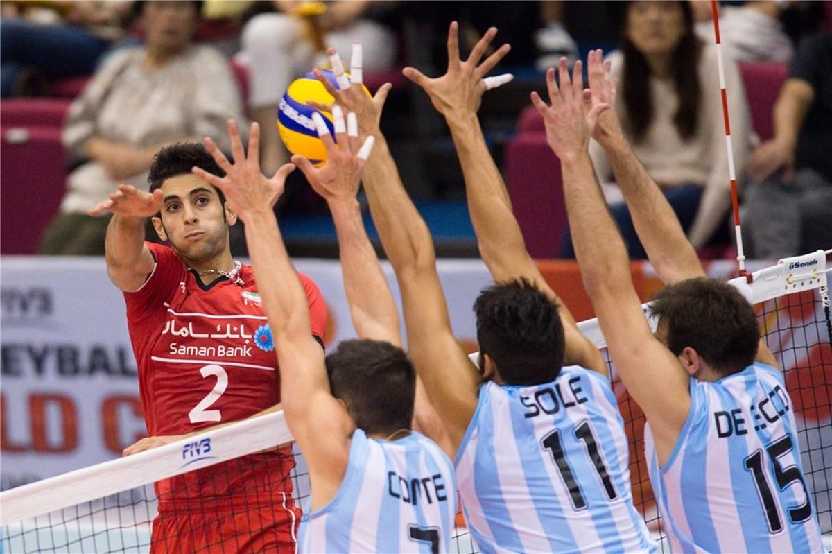 argentina iran svjetski kup odbojka volleyball world cup fivb