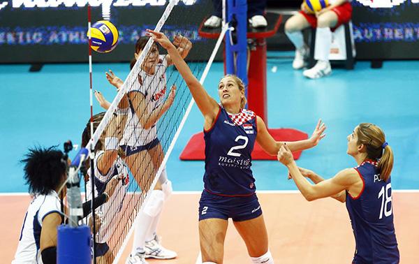 italija hrvatska odbojka evropsko prvenstvo odbojkasice