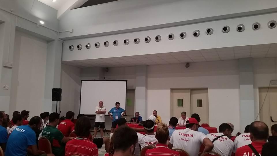 Tehnički sastanak za odbojku na pijesku (Mediteranske igre na pijesku Peskara 2015)