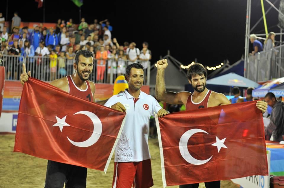 turska pobjednik mediteranske igre peskara odbojka na pijesku beach volley