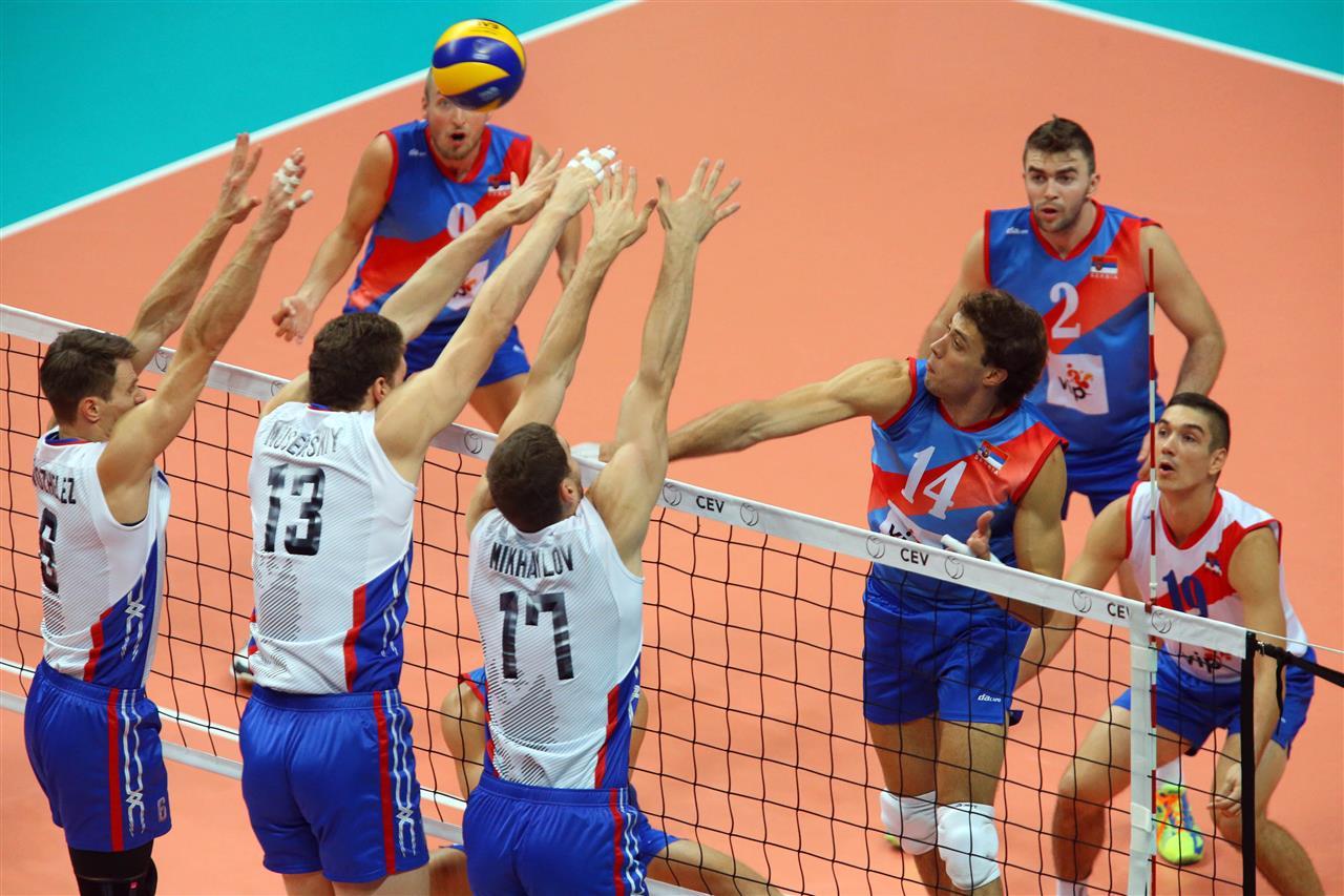 Srbija – Rusija, Evropsko prvenstvo