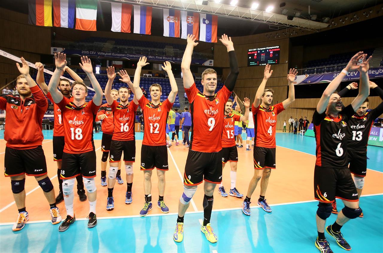 belgija evropsko prvenstvo odbojka