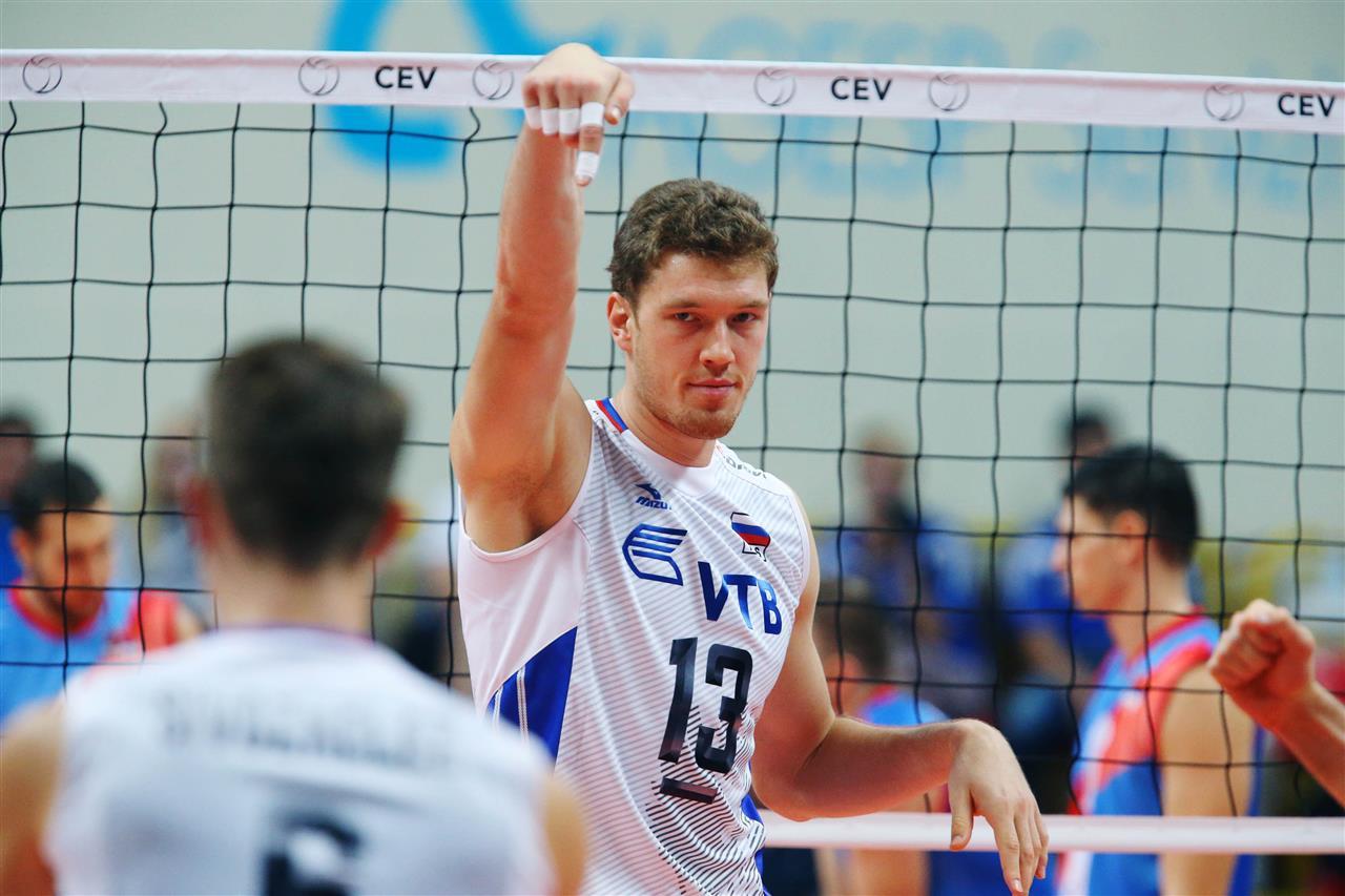 dmitrij muserski rusija evropsko prvenstvo odbojka