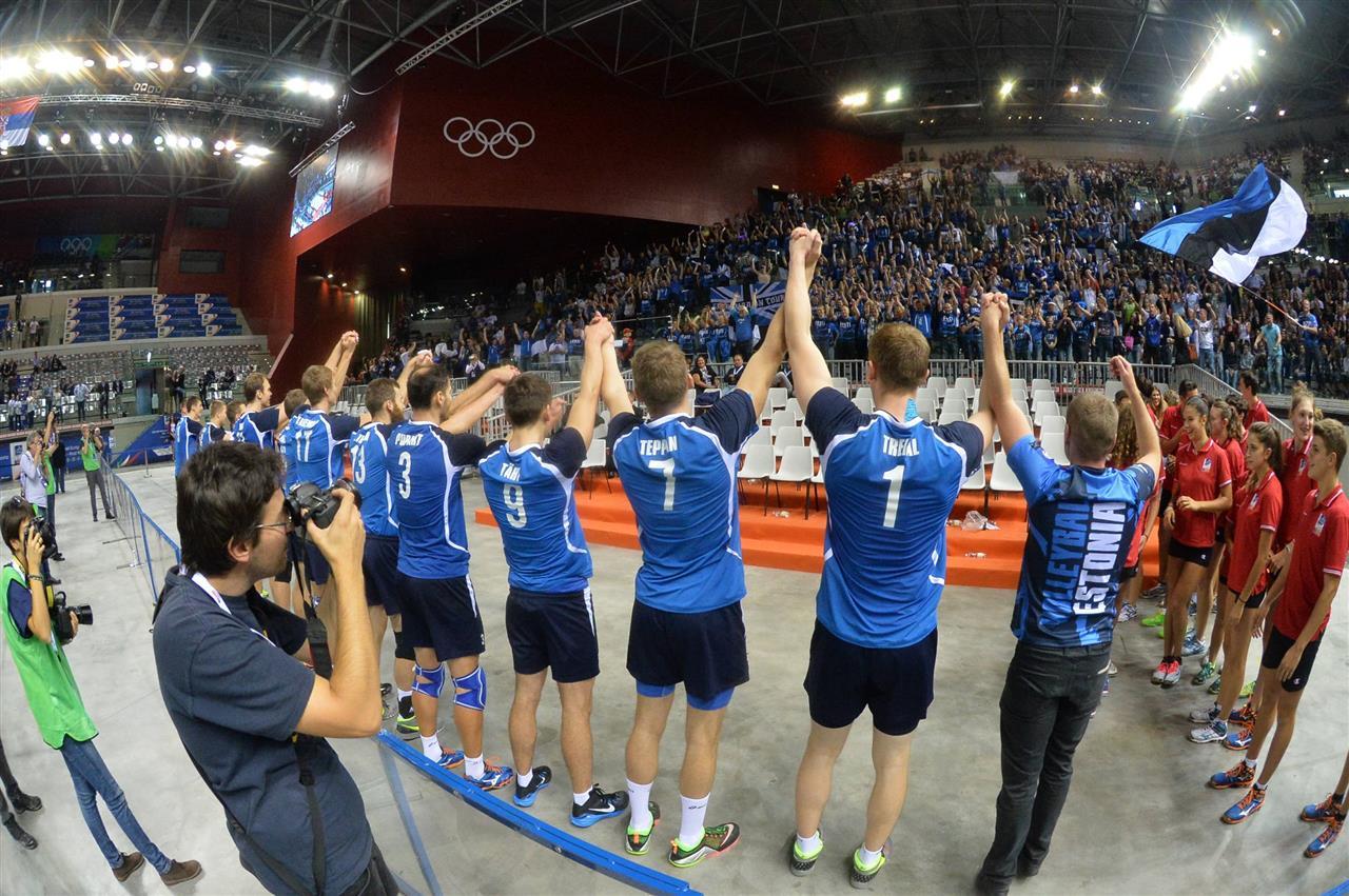 estonija navijaci evropsko prvenstvo odbojka