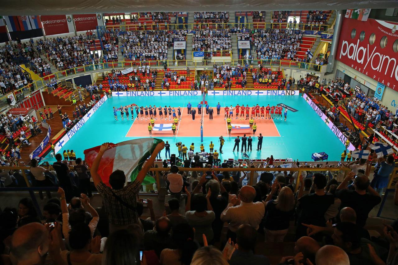 evropsko prvenstvo odbojka finska