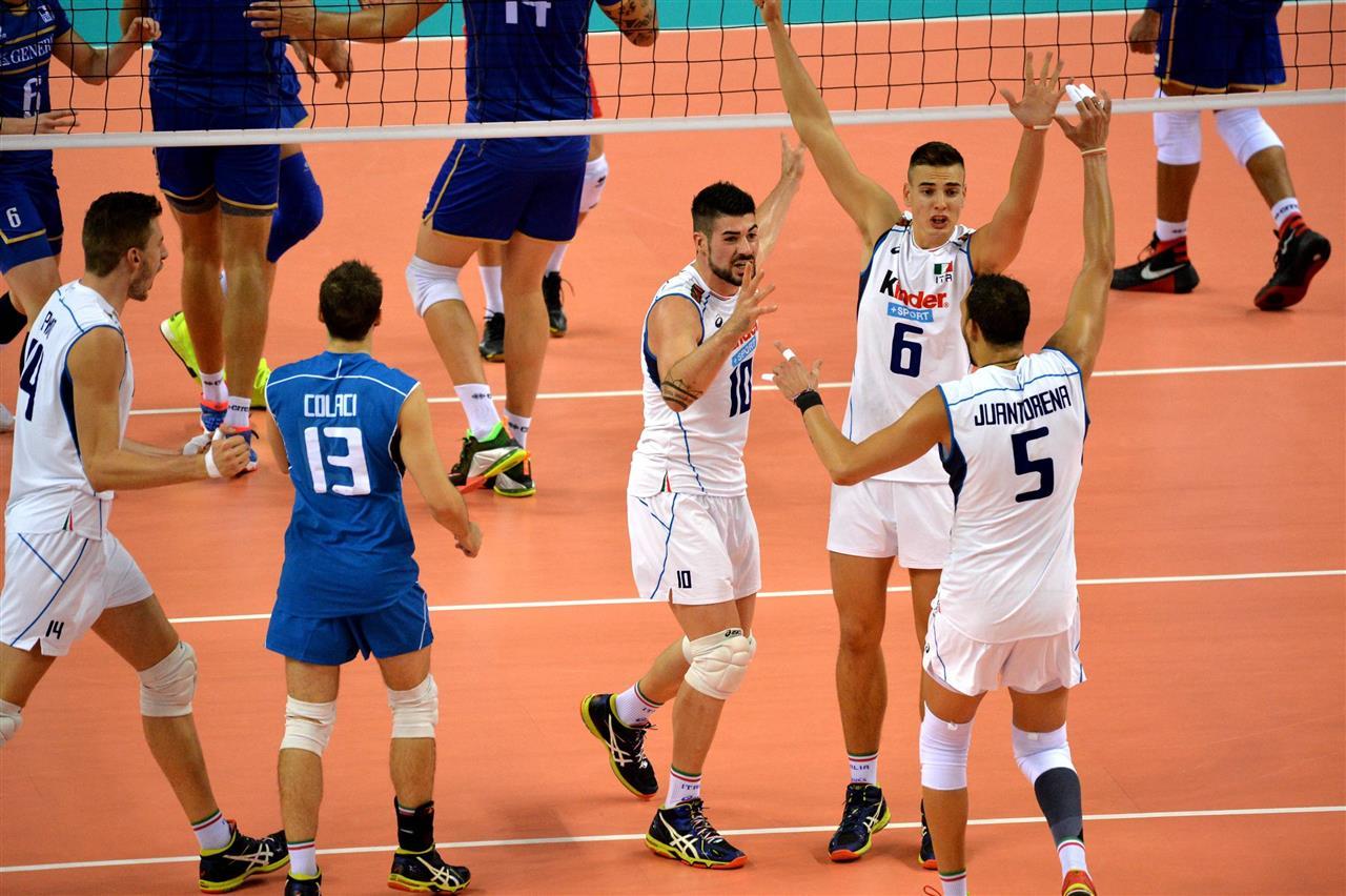 evropsko prvenstvo odbojka italija