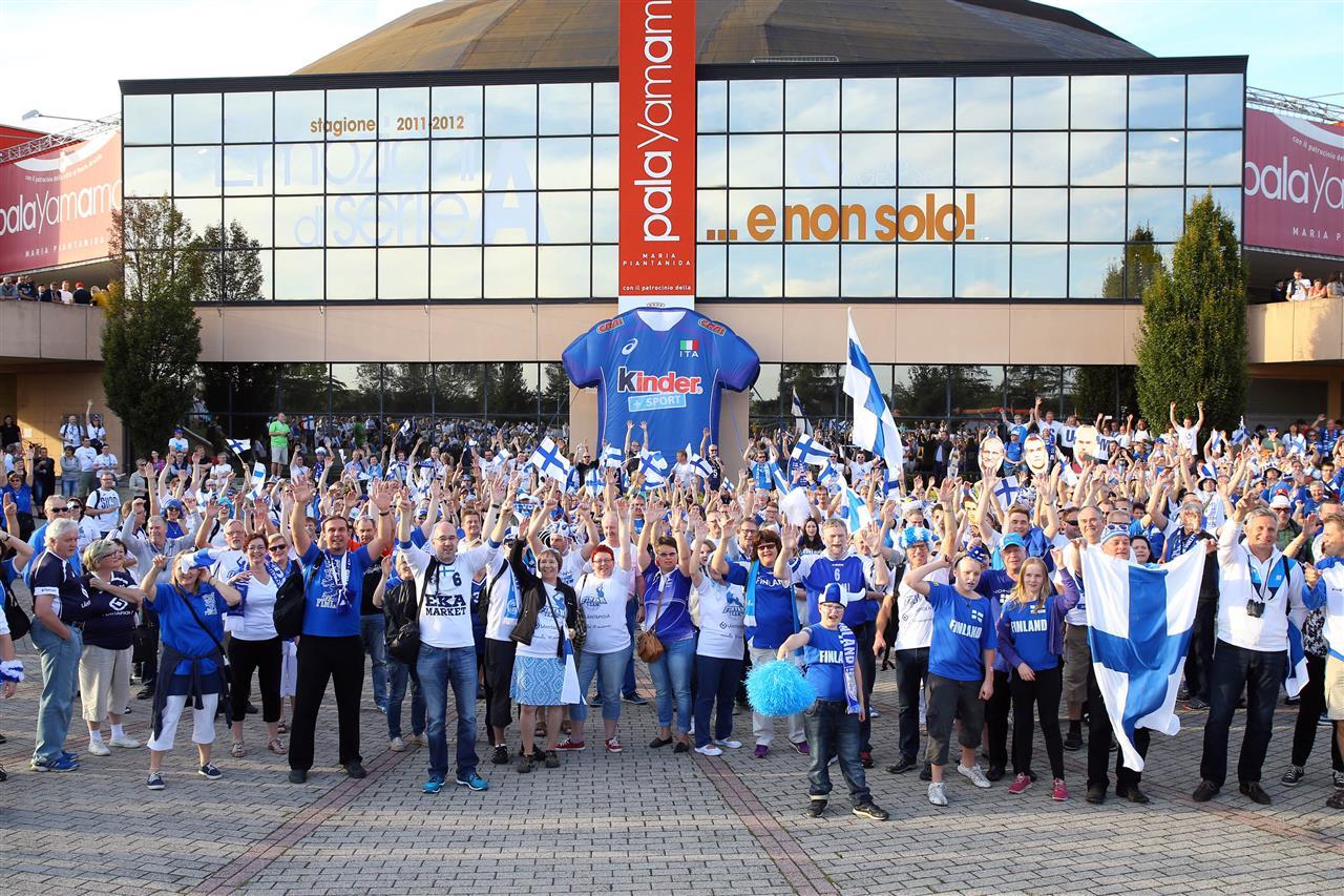 finska navijaci evropsko prvenstvo odbojka 2015
