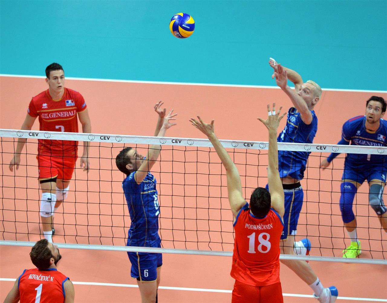 francuska srbija evropsko prvenstvo odbojka