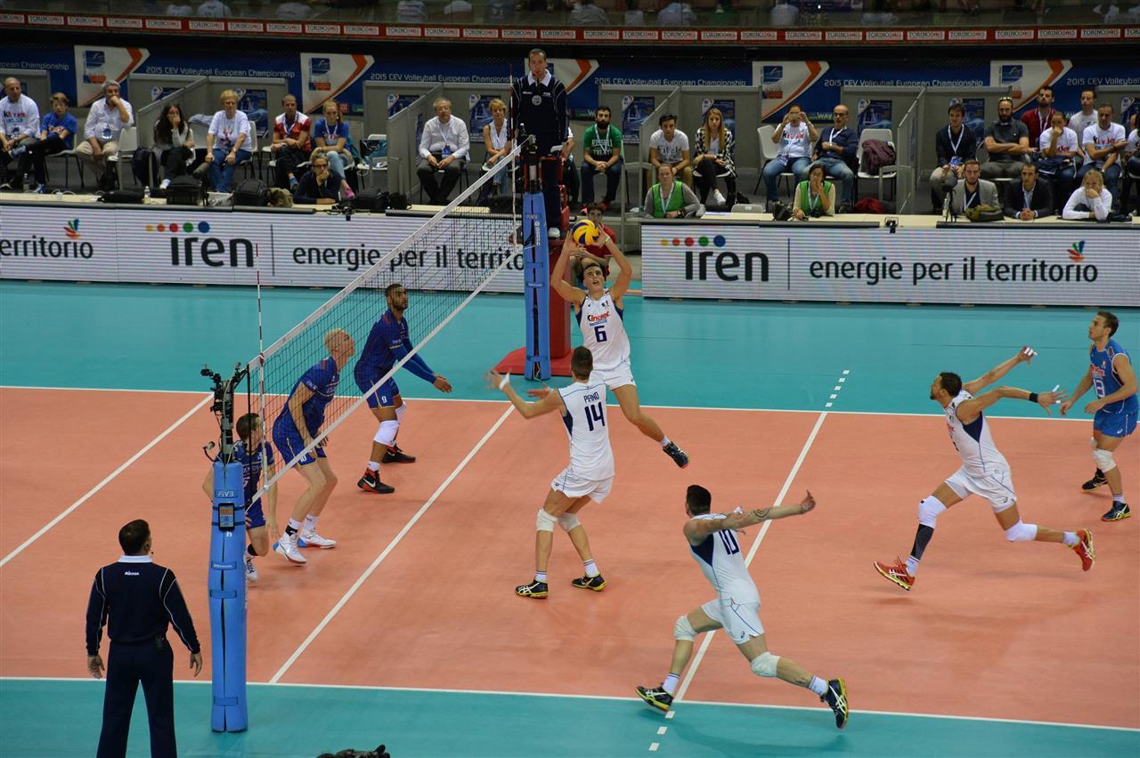 italija francuska evropsko prvenstvo odbojka