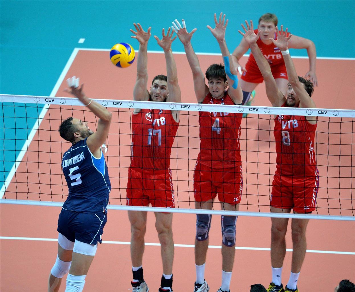 italija rusija evropsko prvenstvo odbojka