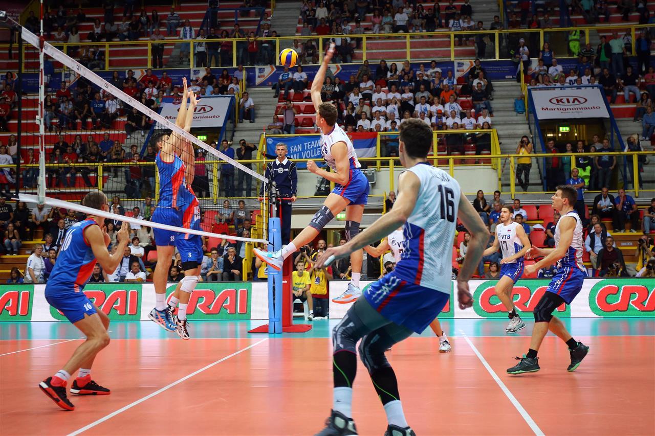 rusija srbija evropsko prvenstvo odbojka