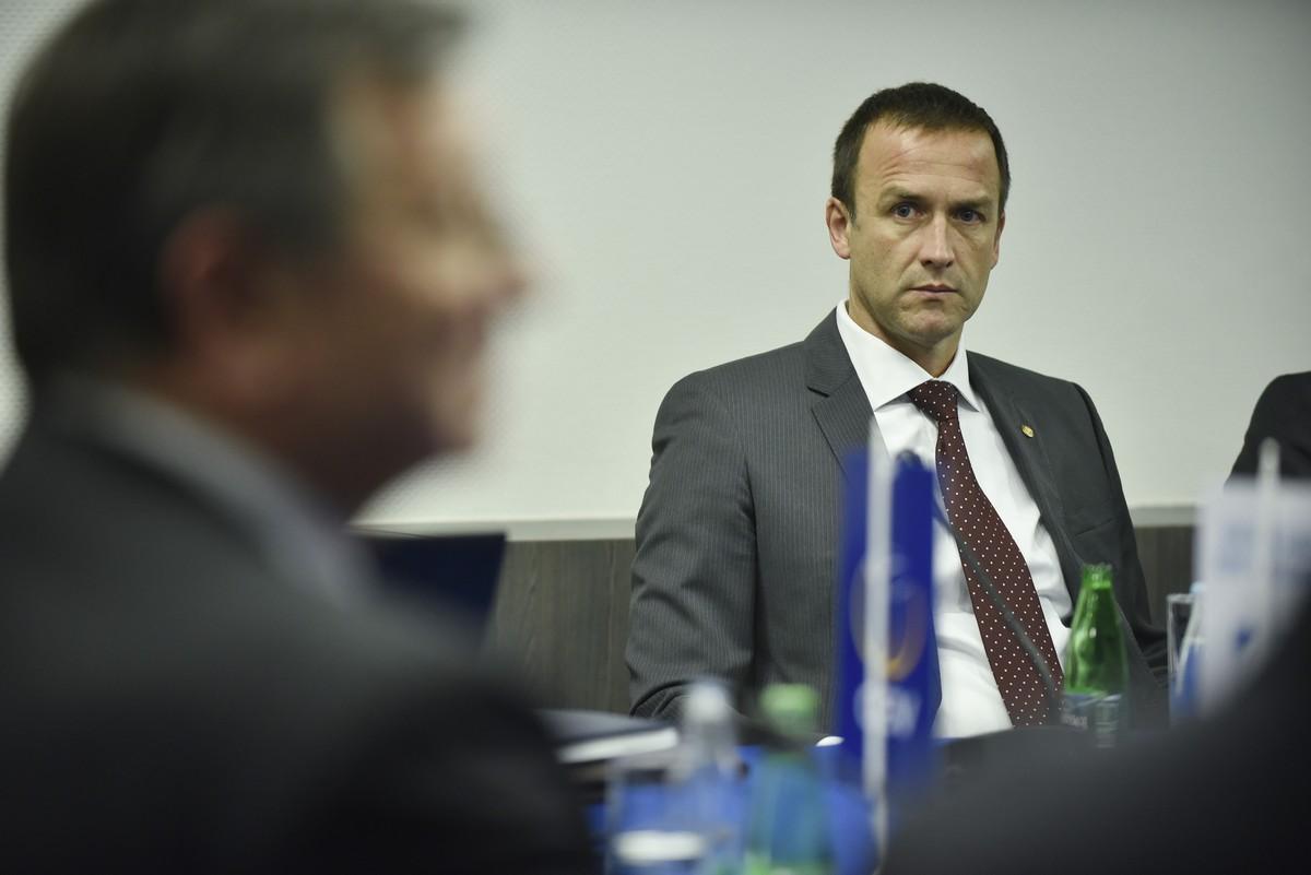 Cvetko Pajković, predsjednik OSCG