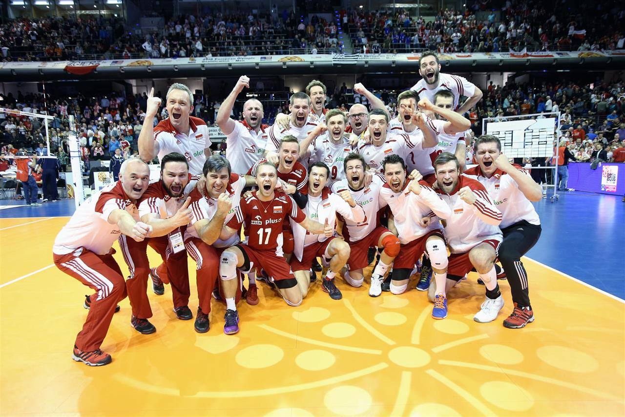 odbojka kvalifikacije za olimpijske igre poljska slavlje