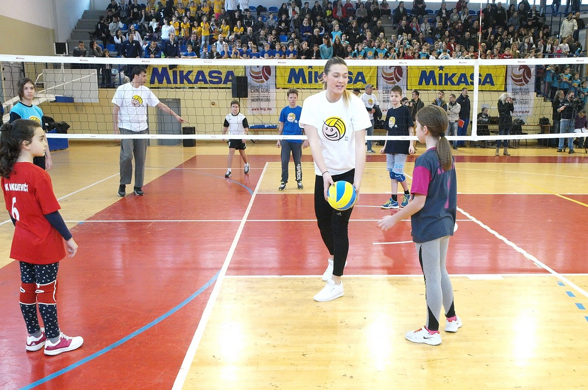 mini odbojka oscg volleyball kids montenegro crna gora
