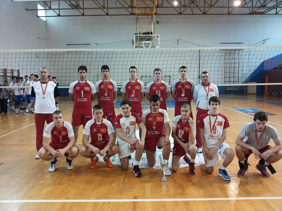 Kadeti Bar volley - a