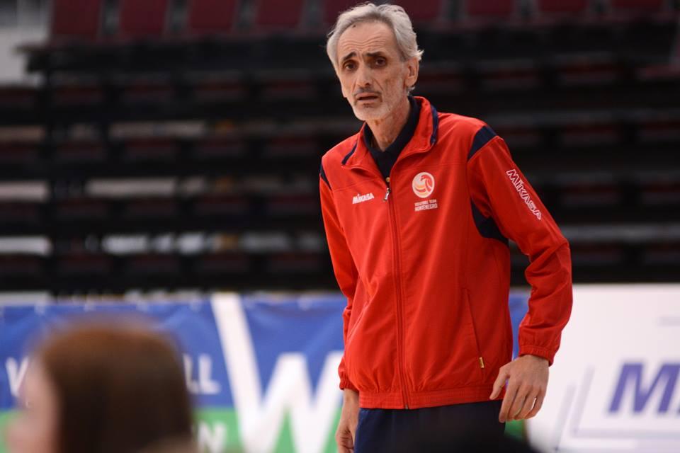vladimir milacic crna gora litvanija odbojka kvalifikacije za evropsko prvenstvo volleyball montenegro women