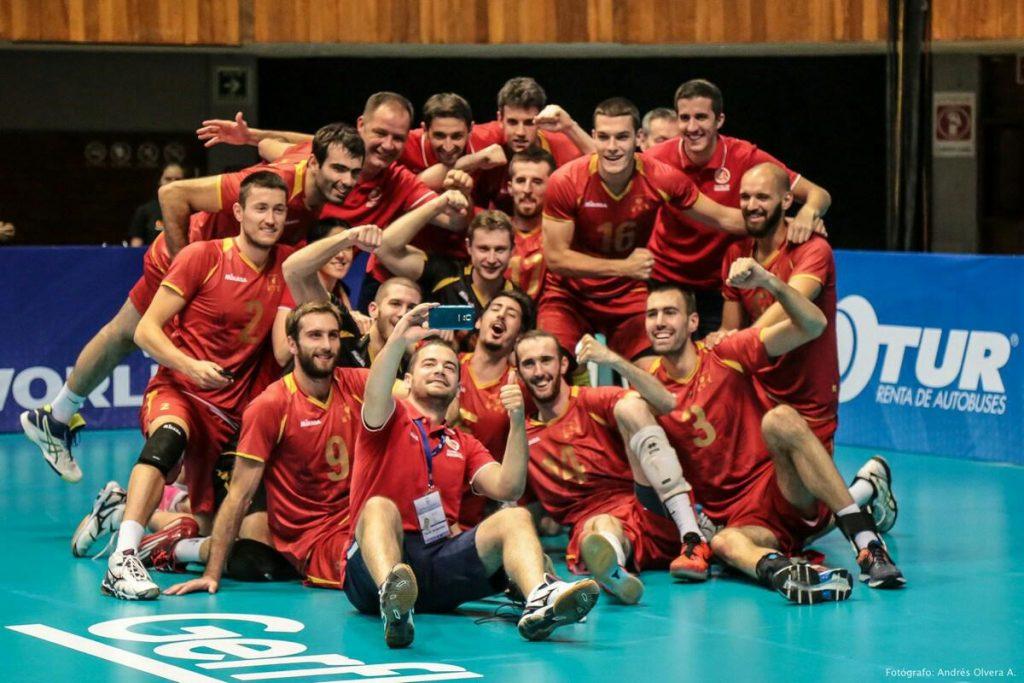Odbojkasi slavlje poslije Španije Svjetska liga