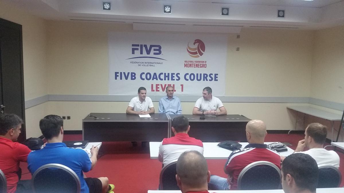 seminar fivb trenera oscg coaches course level 1 podgorica montenegro 002