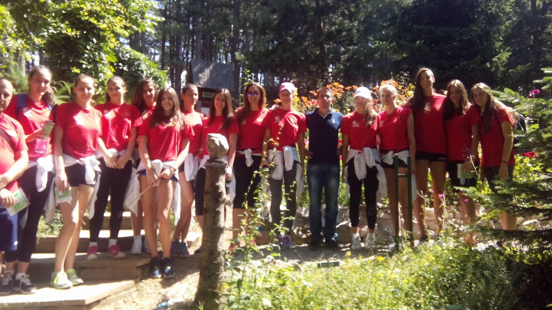 zenska juniorska odbojkaska reprezentacija crne gore botanicka basta dulovina 3