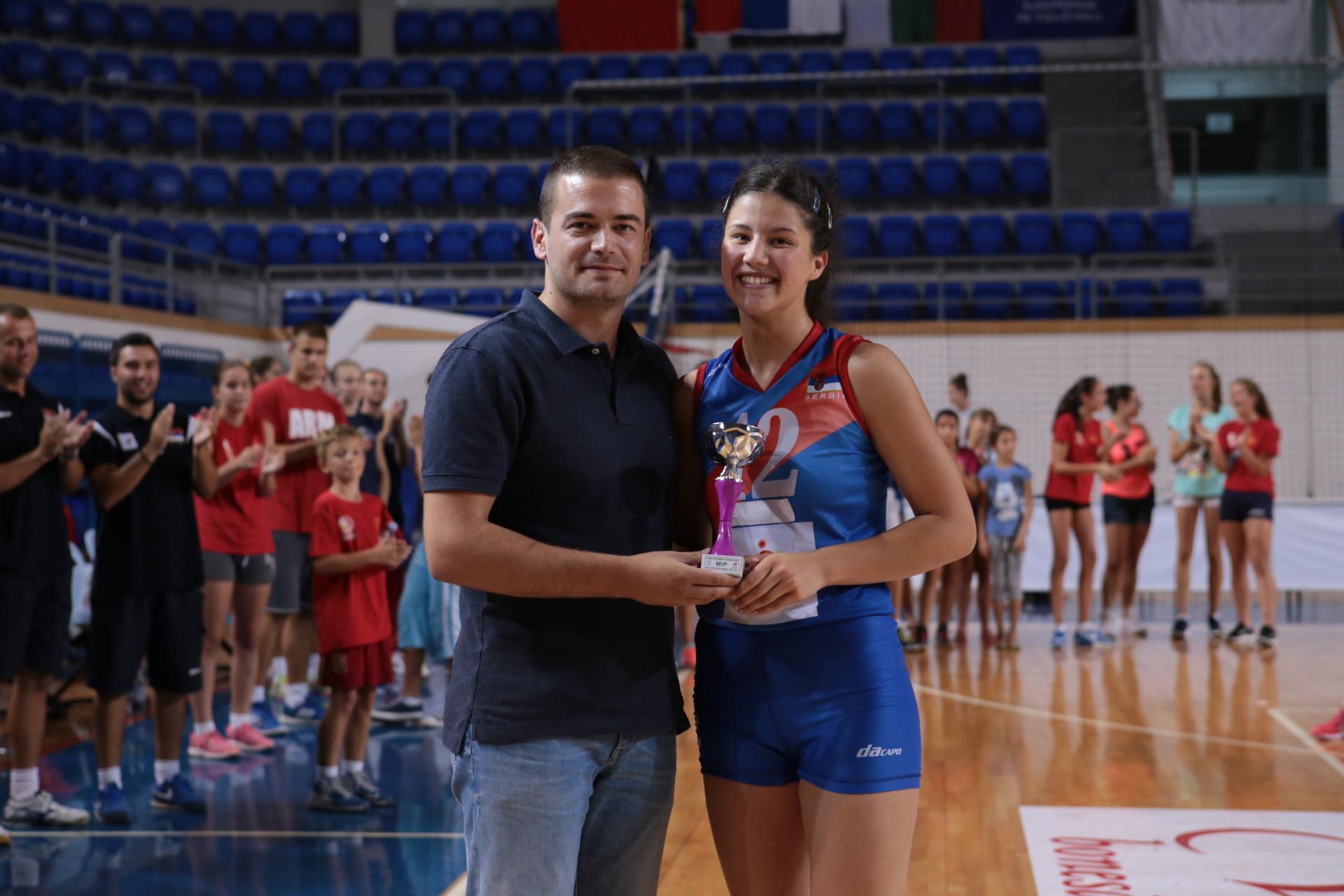 Jovana Mirosavljević (SRB) MVP Balkanskog prvenstva
