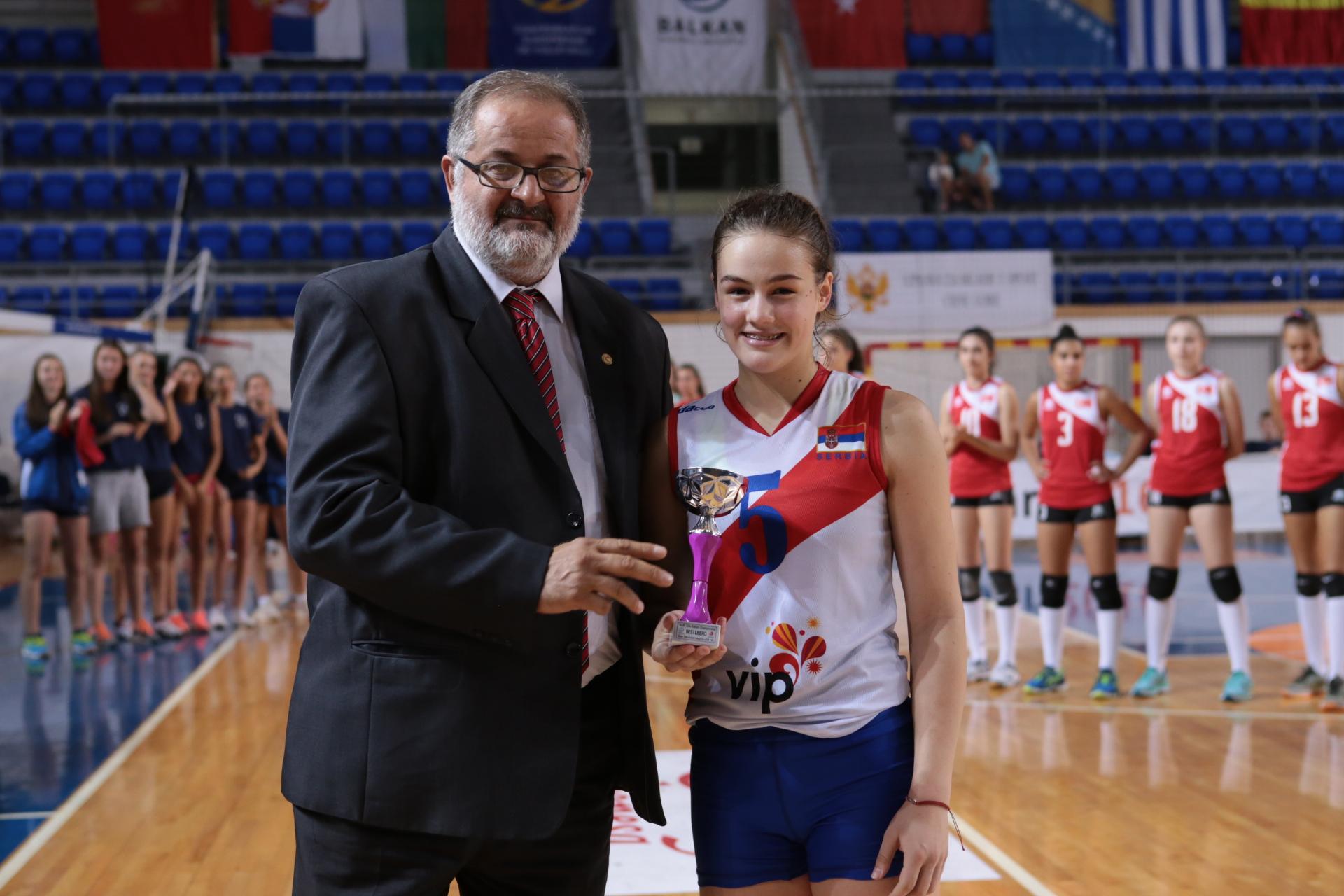 Mila Kocic najbolji libero