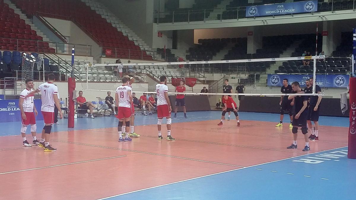 crna gora turska odbojka prijateljske utakmice seniori