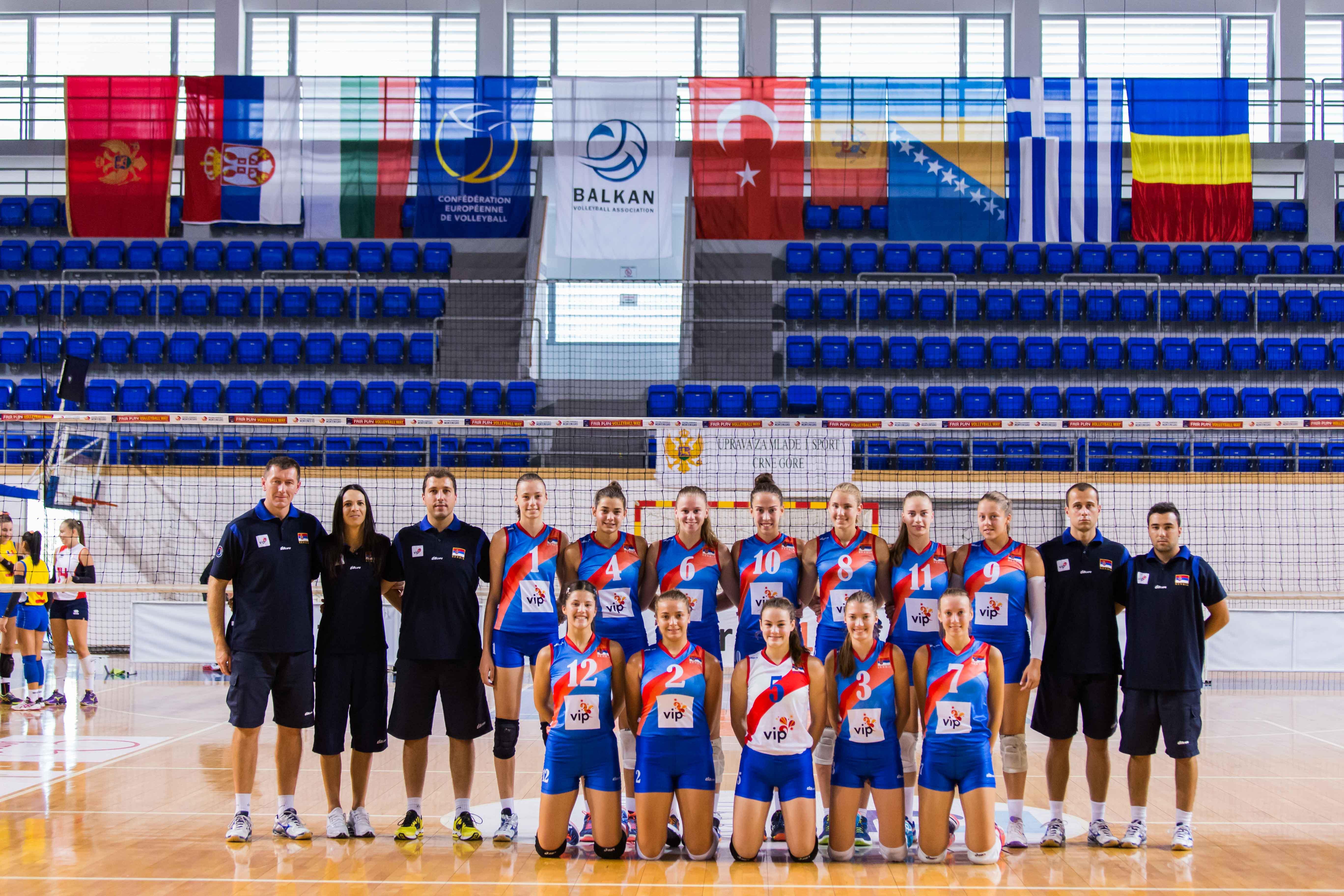 team photo Serbia