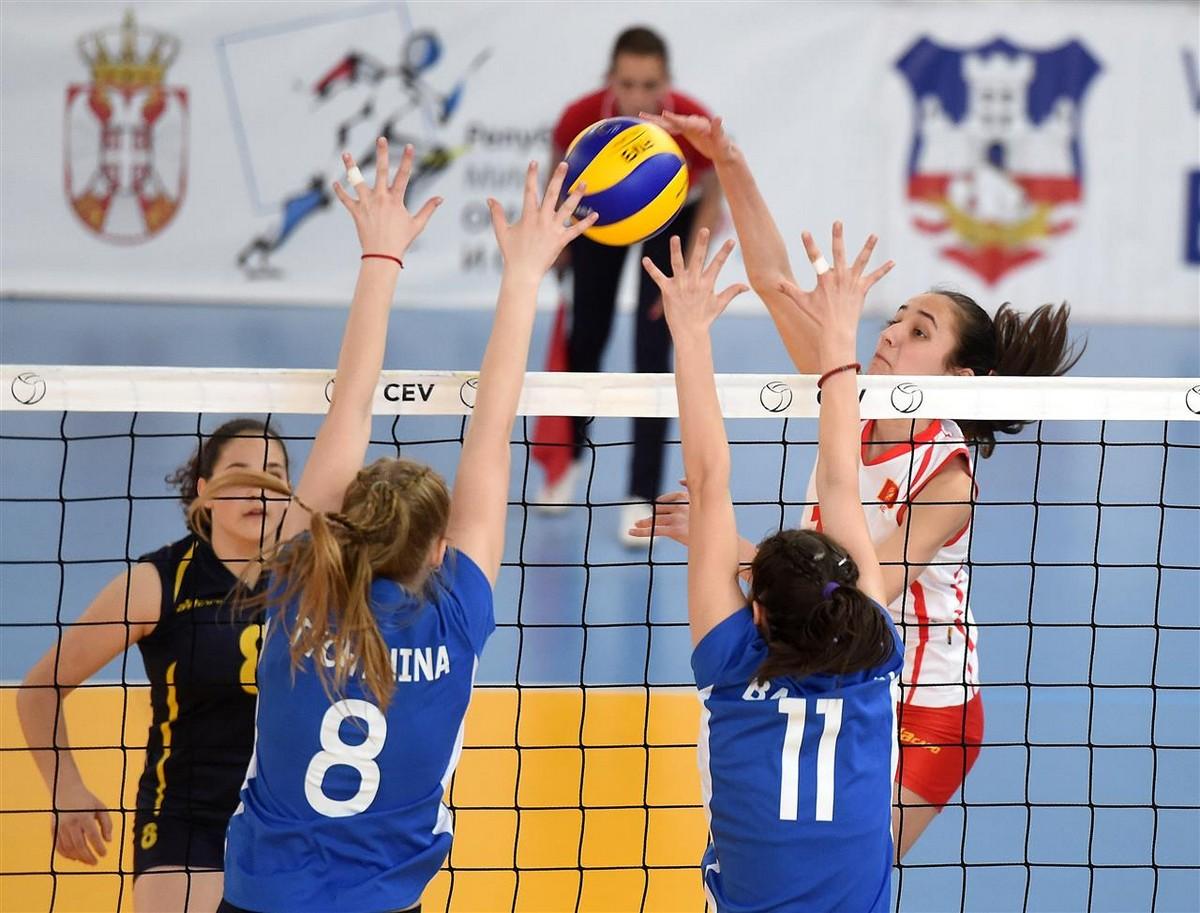 kvalifikacije za ep pionirke Crna Gora Bjelorusija drugi meč Beograd odbojka evropsko prvenstvo 10