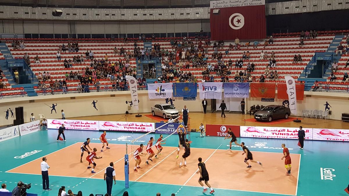 Crna Gora Tunis odbojka Svjetska liga seniori volleyball fivb world league tunisia 03