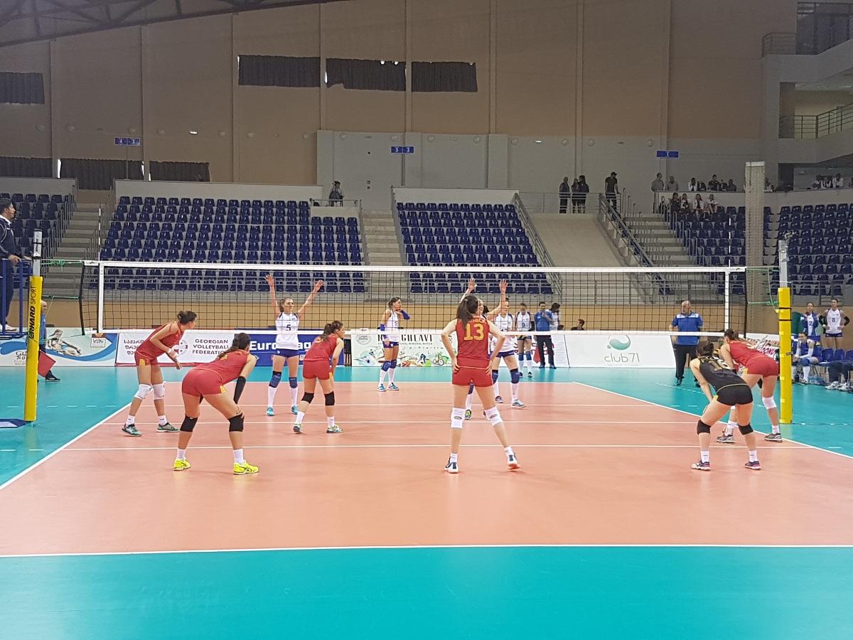 crna gora ukrajina evropska liga odbojka montenegro volleyball european league women odbojkasice