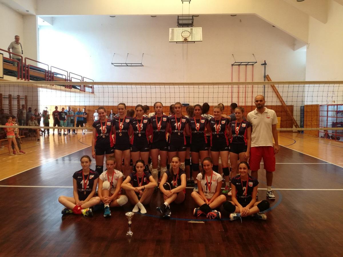 juniorsko prvenstvo crne gore juniorke odbojka zok galeb