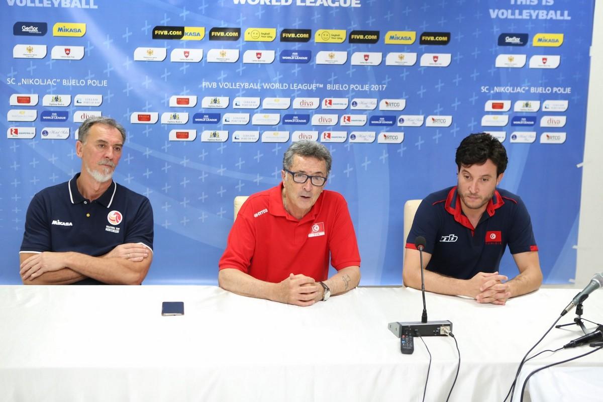 press konferencija Bijelo Polje Crna Gora odbojka Svjetska liga 2017 seniori Estonij Tunis Kineski Taipei 3