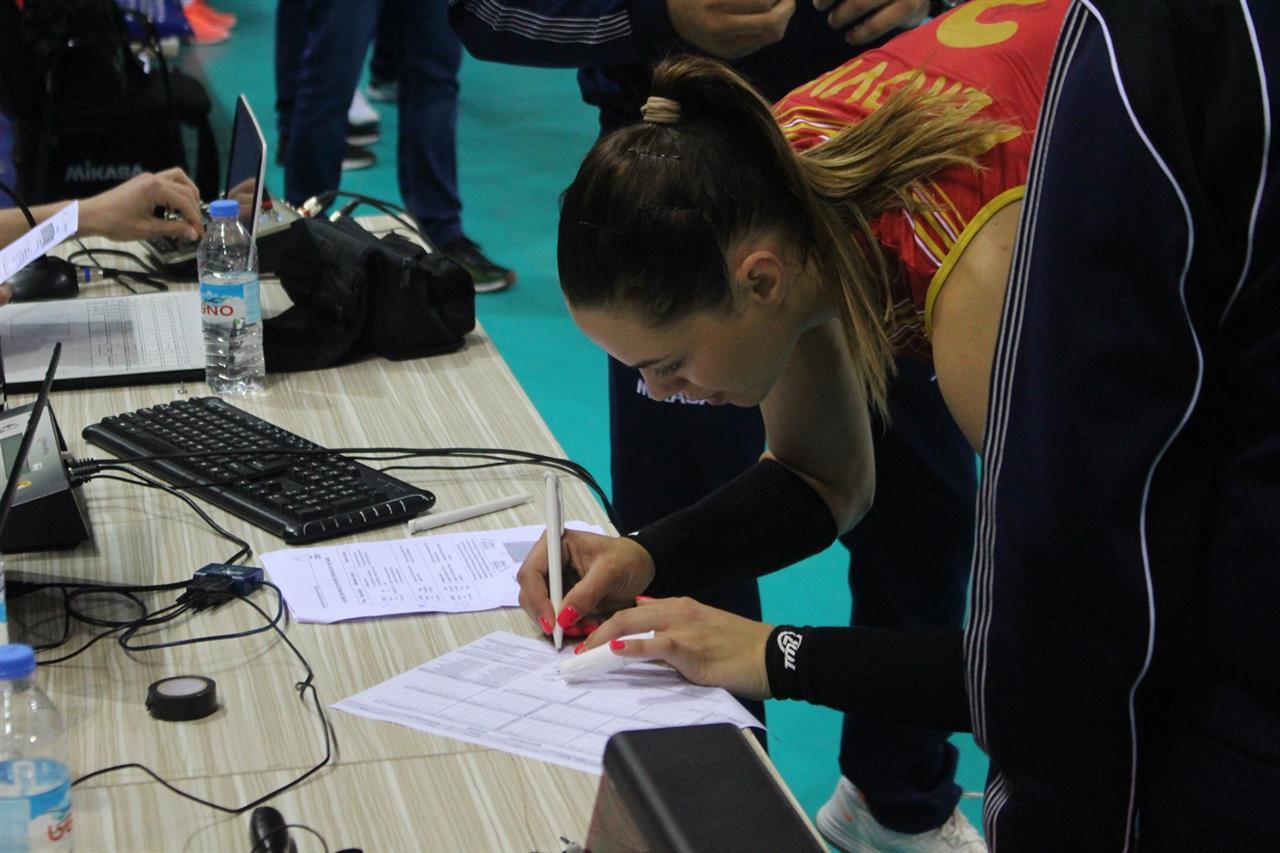 zenska seniorska odbojkaska reprezentacija crne gore odbojkasice evropska liga crna gora volleyball team montenegro european league nikoleta perovic