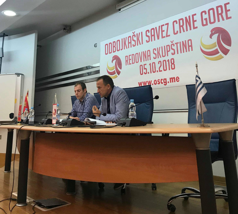 Skupština OSCG 2018. Cvetko Pajković, Miloš Jovanović (3)