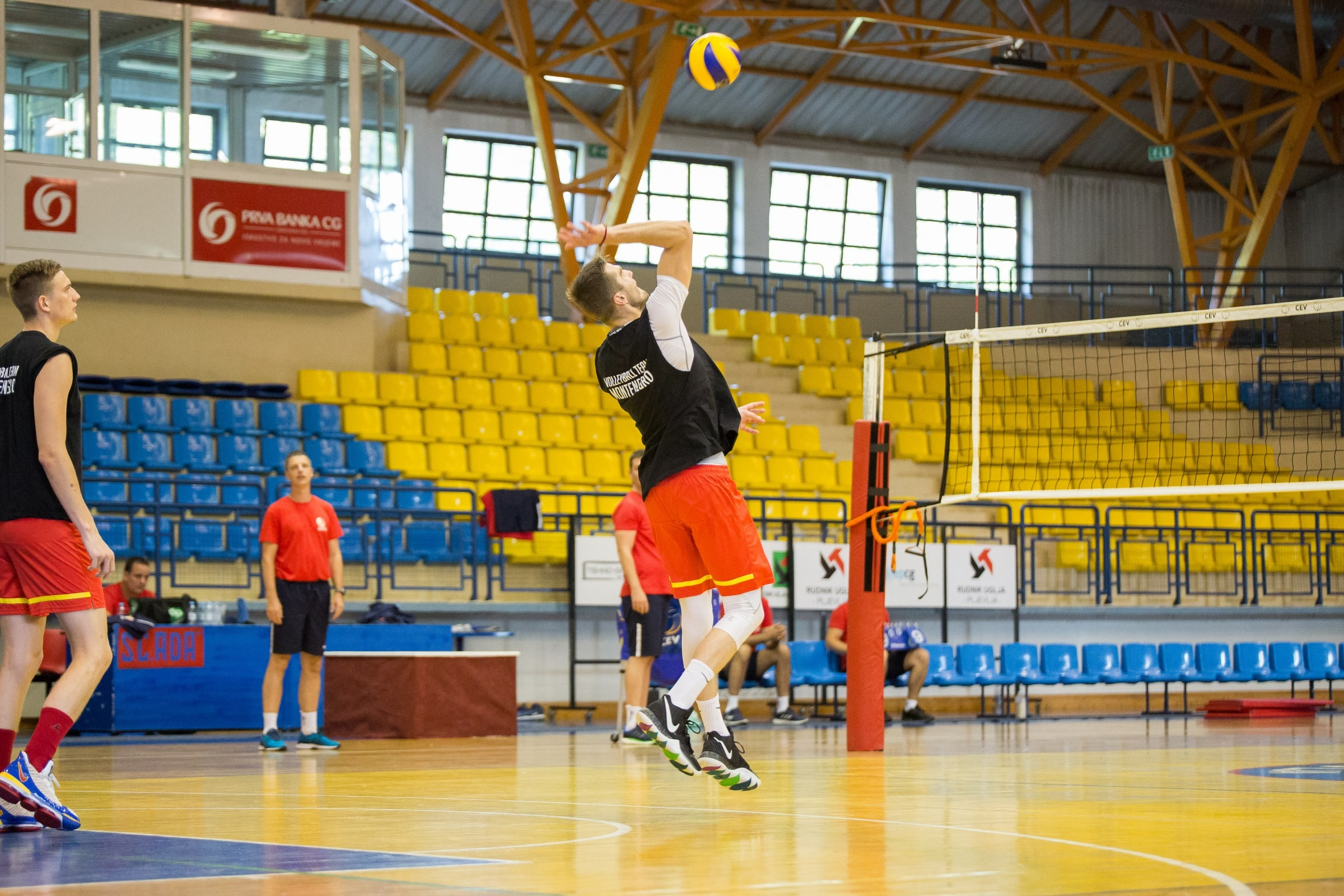 muska odbojkaska reprezentacija crna gora seniori trening 071