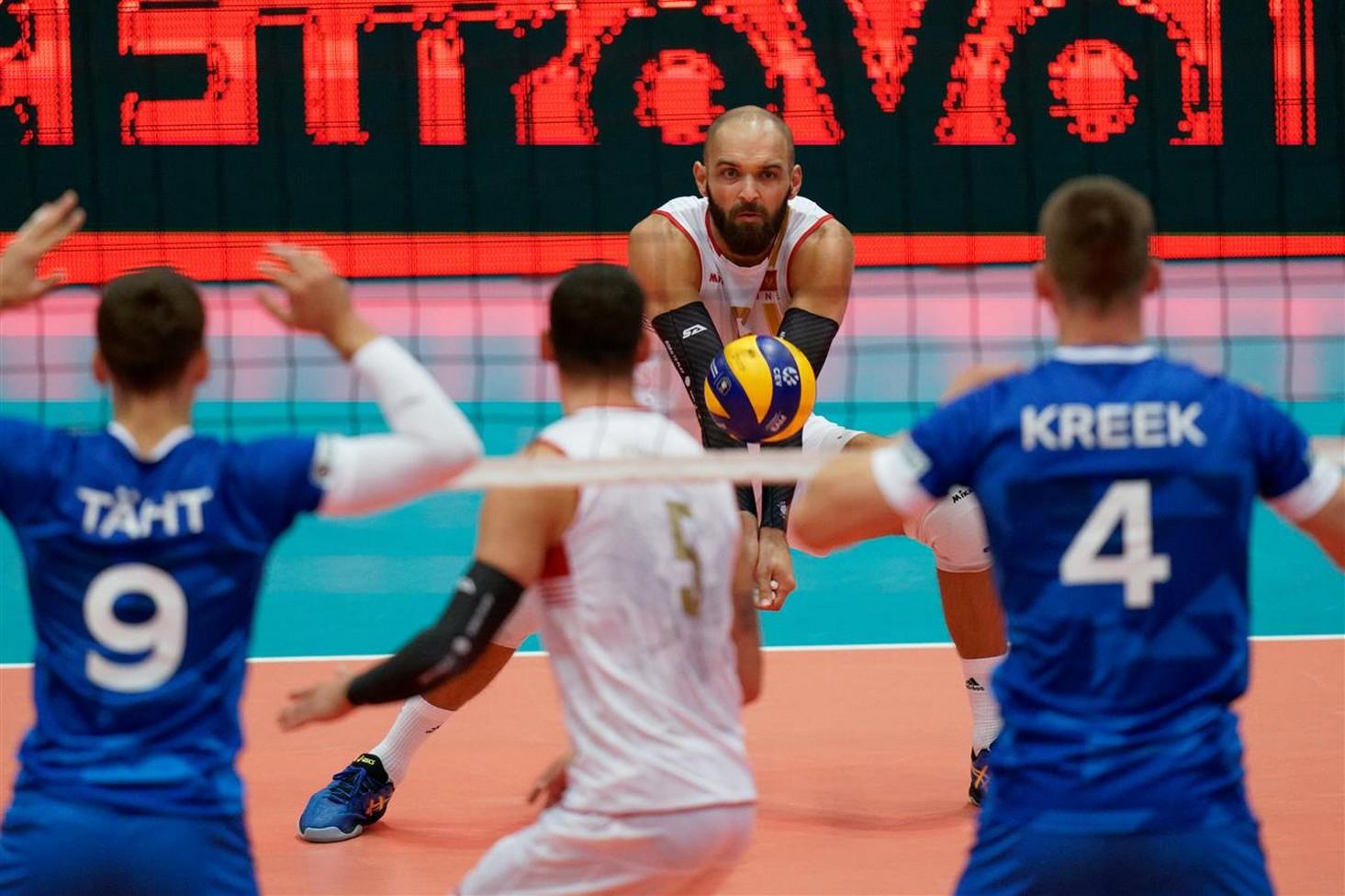 crna gora estonija seniori reprezentacija odbojkasi evropsko prvenstvo 009