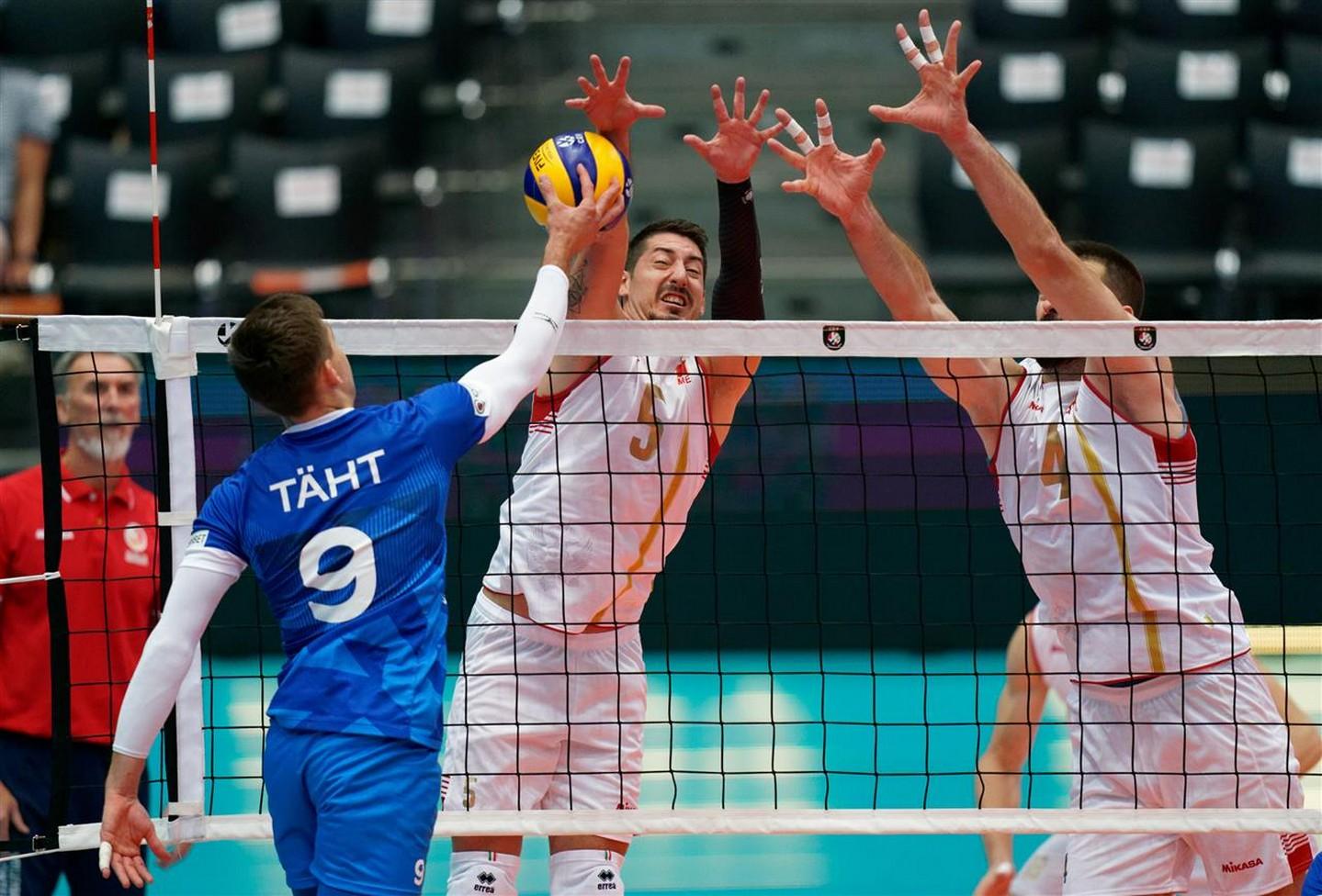 crna gora estonija seniori reprezentacija odbojkasi evropsko prvenstvo 012