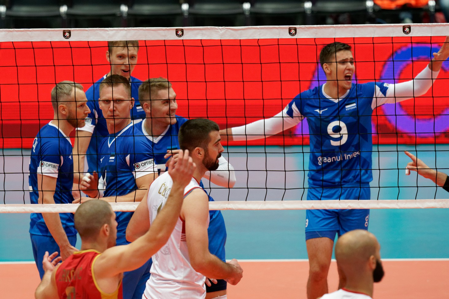 crna gora estonija seniori reprezentacija odbojkasi evropsko prvenstvo 016