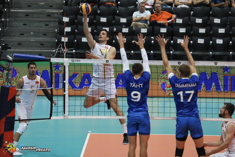 odbojkasi crne gore odbojkaska reprezentacija seniori evropsko prvenstvo estonija 08